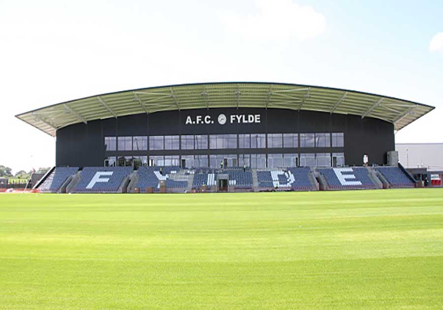 caterware afc fylde stadium photo